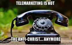 23-04-17 Blog 8 - telemarketing- Old Telephone MEME